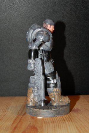 Marcus Fenix Statue Right